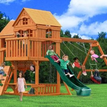 Комплекс «Панорама» с двухуровневым домиком