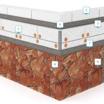 Монтаж гибкого камня Delap на экструдированный пенополистирол EPS (0)