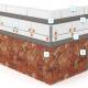Монтаж гибкого камня Delap на экструдированный пенополистирол EPS