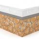 Монтаж гибкого камня на ячеистый бетон, газобетон