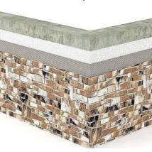 Монтаж гибкого камня Delap на бетонные основания (0)