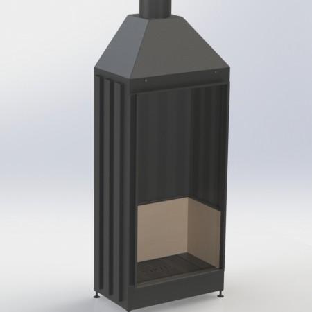 Топка Вирту VS - A 800x1700x600