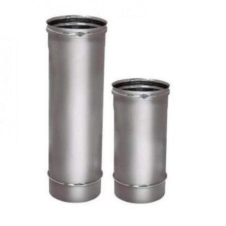 Труба прямая L 1000 d 150mm- Одностенные дымоходы - Магазин каминов