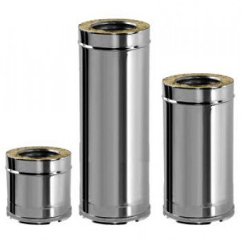 Труба двустенная L = 1000 мм d 150mm