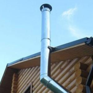 Самостоятельная установка дымохода из нержавеющей стали
