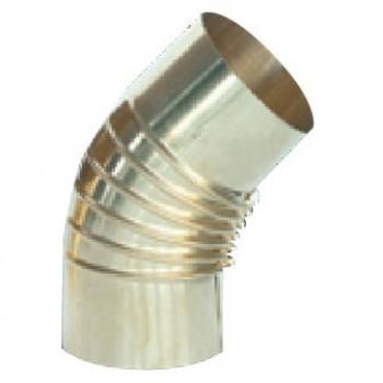 Отвод 45° латунь D120 (Sergio Leoni)