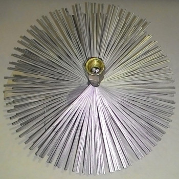 Щетка для дымохода, диаметр 150 мм, сталь (DMO)