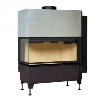 Топка Radiante 550/20/45-89.44 H, черная рамка, левая (Hark)