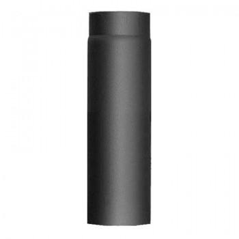 Труба L1000 D130 черн. (EdilKamin)