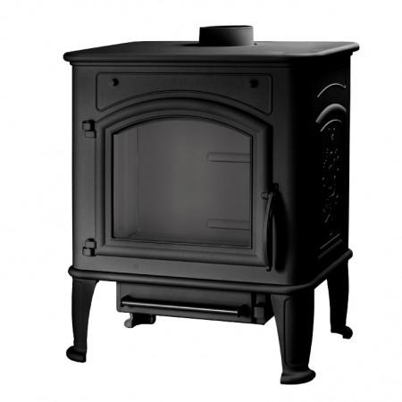 Печь Premium Lux, чёрная (Liseo)