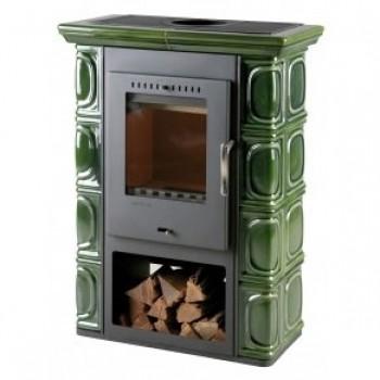Печь Borgholm Keramik, оливково-зеленая (Thorma)