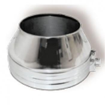Конус DFH на трубу D250 с изол.50мм, нерж321/нерж321 (Вулкан)