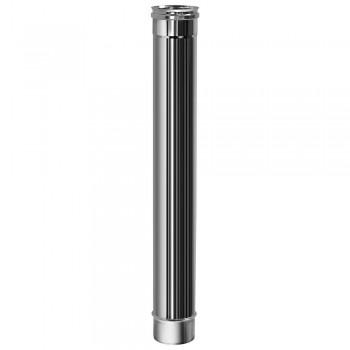 Труба L1000 D120 без изоляции, зеркальная (Вулкан)