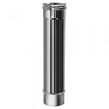 Труба L500 D150 без изоляции, зеркальная (Вулкан)