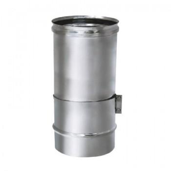 Труба телескопическая L260-400 D120 без изоляции, зеркальная (Вулкан)