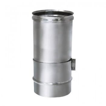 Труба телескопическая L260-400 D150 без изоляции, зеркальная (Вулкан)