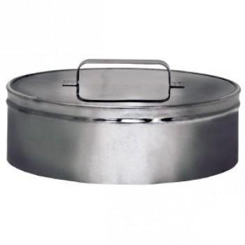 Ревизия (крышка) DRH на трубу D150 с изол.50мм, нерж321/нерж304 (Вулкан)