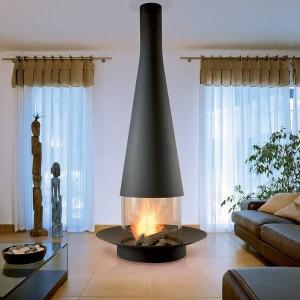 Подвесные камины (стекло и огонь)