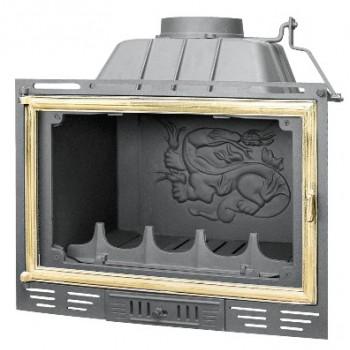 Топка Fabrilor - DECO 690 SA BR (боковое открытие дверцы, латунный фасад)