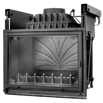 Топка Fabrilor - DECO 760 DO (подъёмный механизм дверцы)