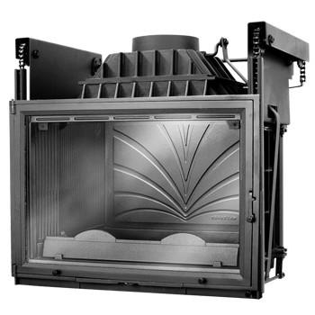 Топка Fabrilor - DECO 795 DO (подъёмный механизм дверцы)