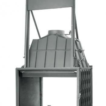Топка Fabrilor - DECO 815 DO DF (двухсторонняя топкa, подъёмный механизм дверцы)