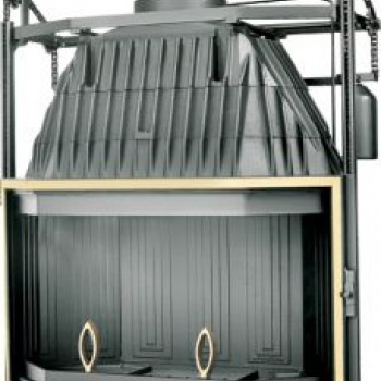 Топка Fabrilor DECO 1000 DO BR подъёмный механизм дверцы латунный фасад