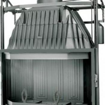 Топка Fabrilor DECO 1000 DO подъёмный механизм дверцы
