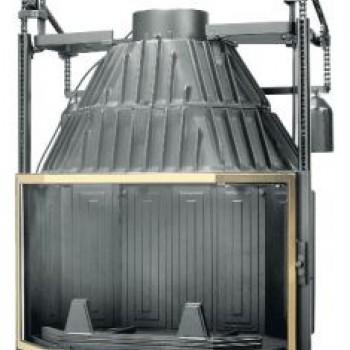 Топка Fabrilor DECO 770 DO BR подъёмный механизм дверцы латунный фасад