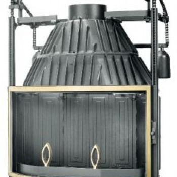 Топка Fabrilor DECO 775 DO BR подъёмный механизм дверцы латунный фасад