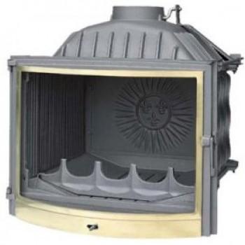 Топка Fabrilor DECO 735 BR боковое открытие дверцы латунный фасад