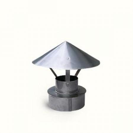 Зонт для двухконтурного дымохода (НИИ КМ)