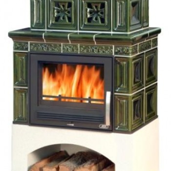 Кафельная печь ABX Valencie (прямой цоколь)