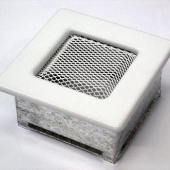 Каминная решетка Kratki 11х11 белая