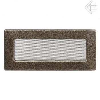 Каминная решетка Kratki 11х32 черная/латунь пористая
