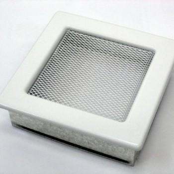 Каминная решетка Kratki 17х17 белая