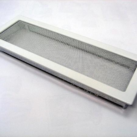 Каминная решетка Kratki 17х49 белая