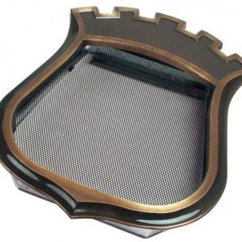 Каминная решетка Kratki Герб с короной 35*44