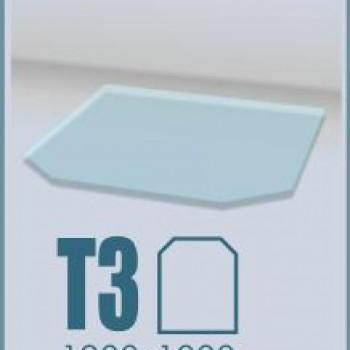 Стекло под печь ABX Т3 Шестиугольное