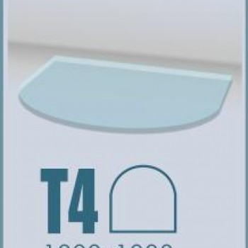 Стекло под печь ABX Т4 предтопочный лист