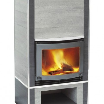 Печь Keddy Arcade (Аркаде серый керамогранит)
