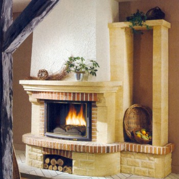 Каминная облицовка La Romaine Saumur