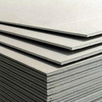 Лист гипсокартона влагостойкий 12 мм (2.5 м х 1.2м) Лафарж