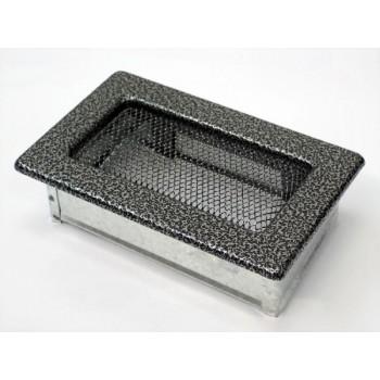 Каминная решетка Kratki 11х17 черная/хром пористая