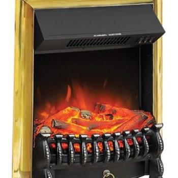 Электрический очаг Royal Flame Fobos FX Brass